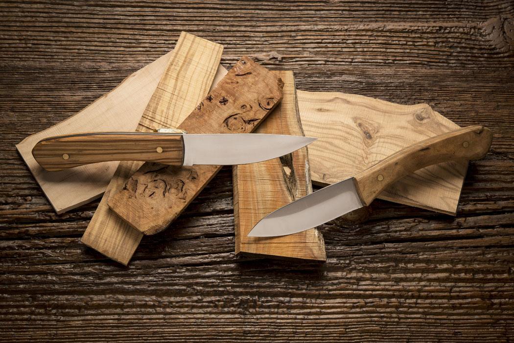 Coltelli di legno artigianali - costruzione e affilatura - gioel terlizzi - L Cotel - Alba Coltelleria