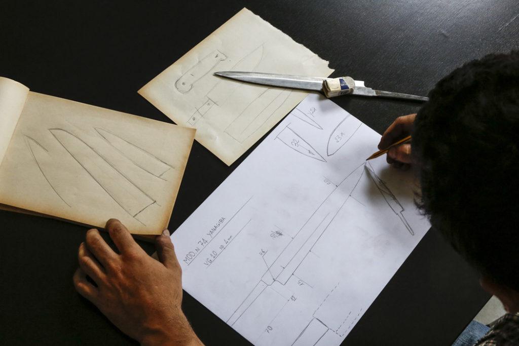 Creazione di coltelli artigianali personalizzati - alba coltelleria - Gioel Terlizzi - L Cotel