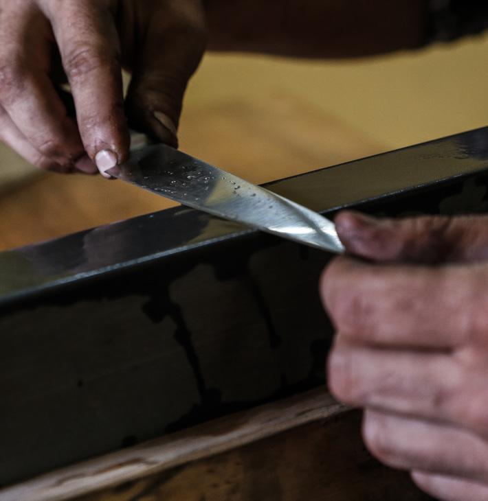 Manutenzione coltelli e lame - Affilatura affettatrici - LCotel Gioel Terlizzi - Alba Coltelleria