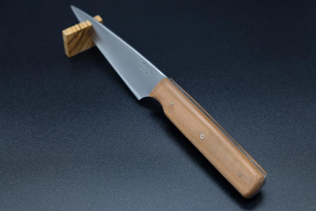 Coltello artigianale con manico in legno personalizzato - 'L Cotel - Alba Coltelleria - Gioel Terlizzi